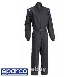 Sparco Driver Auto Racing Suit 1 Layer SFI 3.2a. 1 Black 2XSmall 4XLarge
