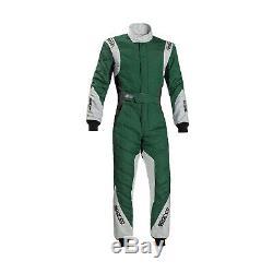 Sparco EAGLE RS-8.1 Race Suit Green/White (FIA homologation) Genuine 54