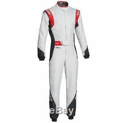 Sparco Eagle RS-8.2 Race Suit White/Black/Red Size 48