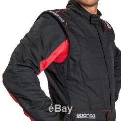 Sparco Energy RS-2.1 Race Suit FIA Race Rally Sprint Overalls Red Blue Black