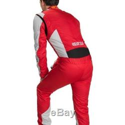 Sparco Energy RS-5 Race Suit FIA Race Rally Sprint Overalls Red Blue Black 60 66