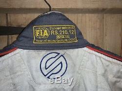 Sparco FIA 8856-2000 Car Race Suit GT-R GT3 Euro 56 (7) Silverstone