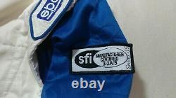 Sparco FIA RS. 012.01 Kentucky Nascar 2003 Racing Suit Nomex SFI 3-2A/5 Sz L 58