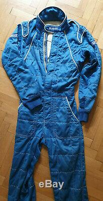 Sparco FIA RS. 012.01 Nomex 2002 Racing Suit. Fire Suit Made in Italy. No 50