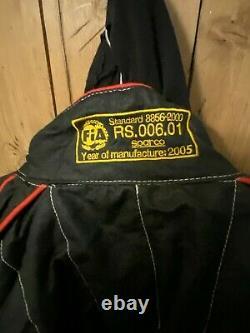 Sparco Fire Proof Race Suit Size 56 (Large) R506