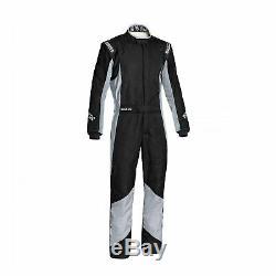 Sparco GRIP RS-4 Racing Suit Black/Grey (Homologation FIA) s. 56
