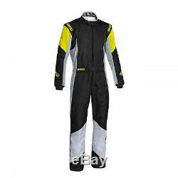 Sparco GRIP RS-4 Racing Suit Black/Yellow (Homologation FIA) 48 EU