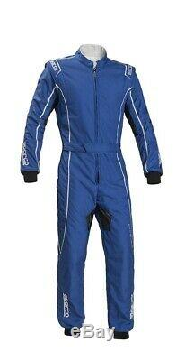 Sparco Groove KS-3 Kart Karting Suit blue/white (CIK FIA Approved) size XL