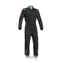 Sparco Groove KS-3 Kart-Suit black/blue (CIK FIA Homologation) Genuine M