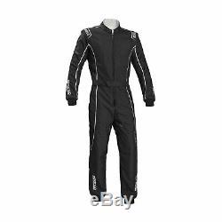 Sparco Groove KS-3 Kart-Suit black/silver (CIK FIA Homologation) Genuine M