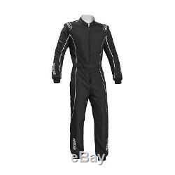 Sparco Groove KS-3 Kart-Suit black/silver CIK FIA s. S