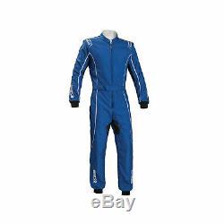 Sparco Groove KS-3 Kart-Suit blue (CIK FIA Homologation) size L NEW