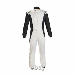 Sparco Italy COMPETITION RS 4.1 Race Suit White FIA homologation (52)