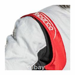 Sparco Italy EAGLE RS-8.2 Racing Suit White Red FIA (58)