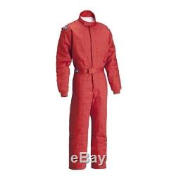 Sparco Jade 2 SFI 5 Racing Suit, Black, Size Medium