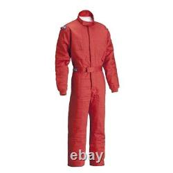 Sparco Jade 2 SFI 5 Racing Suit, Red, Size Small