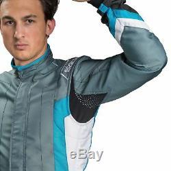 Sparco KS-7 Race Racing Go Kart Karting Track Suit Lightweight Overalls FIA