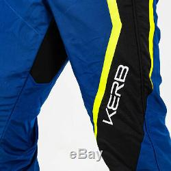 Sparco Kerb CIK FIA Level 2 Approved Kart Suit Child Sizes