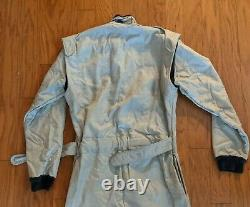 Sparco Lico Racing Suit Silver SFI Rated Level 2 Size Medium 52