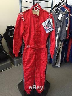 Sparco M5 Racing Suit Red (48)