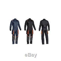 Sparco MS-7 Car Rally Racing Mechanics Garage Pit Paddock Cordura Overalls Suit