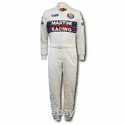 Sparco Martini Racing Replica FIA Approved Race Suit Size 60