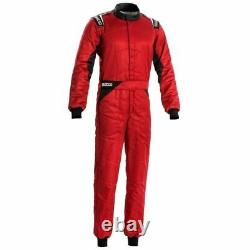 Sparco NEW SPRINT Racing Suit (FIA & SFI Approved) SIZE 52 SPA001092 Red
