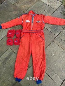 Sparco Nomex race suit size 58. 2000 standard, eligible for motorsport