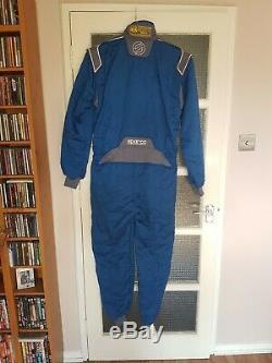 Sparco PRIMA M-3+ Blue Race Suit (FIA) 56