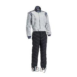 Sparco PRIMA X-3 Black and Grey Race Suit (FIA) 48