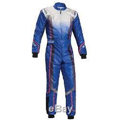 Sparco Prime KS-10 Kart / Karting Race Suit Blue Size 58 00230658AZ
