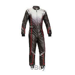 Sparco Prime KS-10 Kart-suit, black (with homologation CIK FIA) Genuine 54