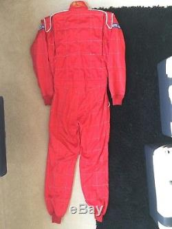 Sparco R504 3 layer Nomex FIA race suit size 54 in Red