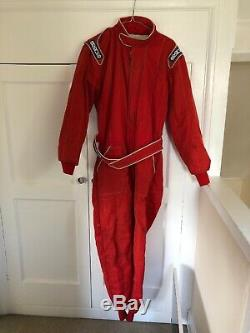 Sparco R506 2 Layer Fireproof Nomex FIA Approved Race / Rally Suit Size 52