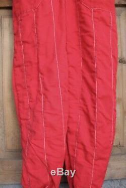Sparco R506 Conquest FIA Race Racing Suit Red Size 56