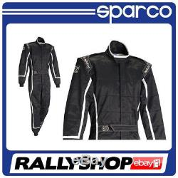 Sparco ROOKIE K-3 SUIT size M, CHEAP DELIVERY WORLDWIDE (Kart, Race, Rally) Black
