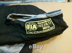 Sparco RS-4 Race Racing Car Single Layer Suit, Size 60. FIA 8856-200