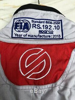 Sparco RS192 Light Weight Summer Race suit Size 58