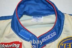 Sparco Race Overall Suit Peugeot Sport 1986 Standart Size 50 Dnk