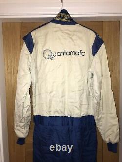 Sparco Race Suit FIA Standard 8856-2000 Size 54 White/Blue