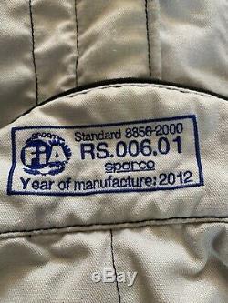 Sparco Race Suit Size 54 FIA 8856-2000