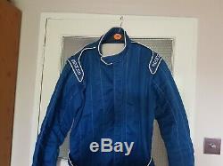 Sparco Race Suit Size 56 Fia 2000