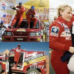 Sparco Race-Suite Mitsubishi Rallye-Dakar 2001 WINNER Jutta Kleinschmidt