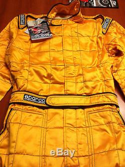 Sparco Racing Fireproof Suit Fia 8856-2000 Size 48 64