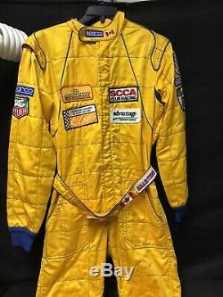 Sparco Racing Race Team Suit Racing Club Italy Size 54