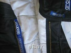 Sparco Racing Suit 1-piece SFI 3-2A /5 Extra Large NWT XL Black Jade 2