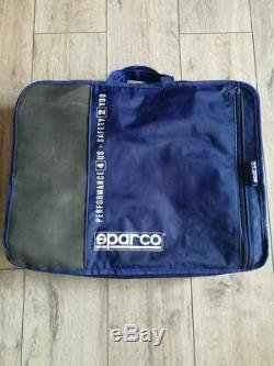 Sparco Racing Suit Black Size S 50 Fia Race Rally With Bag Very Good Condition