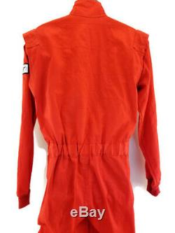 Sparco Racing Suit Driver Single Layer 1-Piece Lightweight SFI 3.2A/1 Rated Sz L