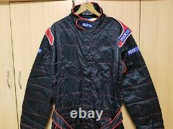 Sparco Racing Suit Formula Karting Size 62 NOS Vintage FIA 2001 With Tags Niveau