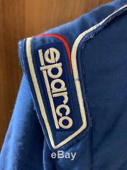 Sparco Racing Suit Hocotex RS. 244.13 Blue Size56 Rally Motorsport FREE P&P